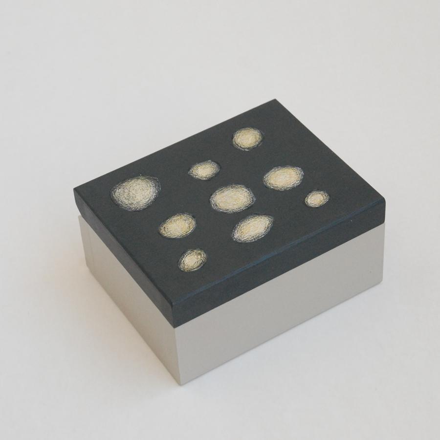 """Maža medinė dėžutė """"Pilka"""" (box-11)"""